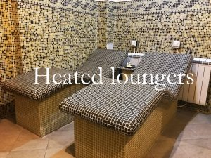 Heated loungers
